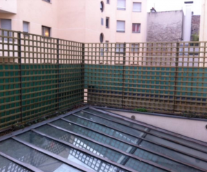 Claustra pour terrasse PARIS 11e