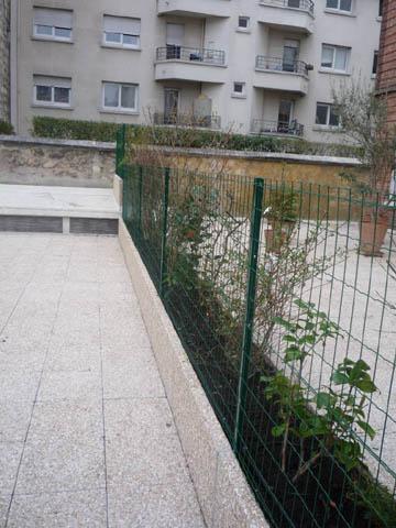 Aménagement jardinère Vincennes