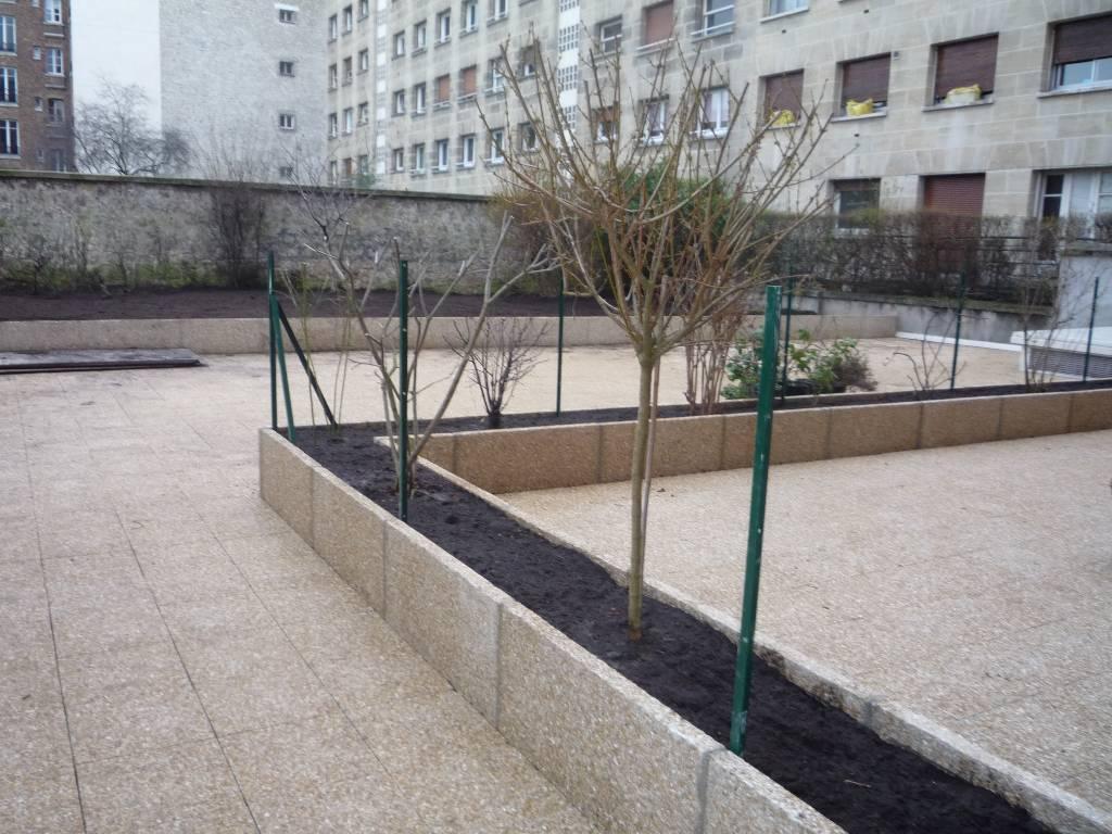 r am nagement d un jardin de copropri t saint mande arboriflore entreprise paysagiste paris. Black Bedroom Furniture Sets. Home Design Ideas