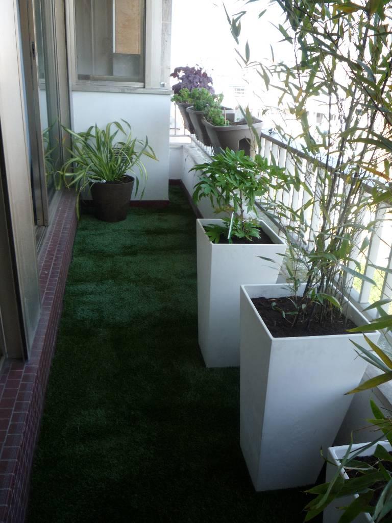 am nagement d un balcon paris 11e arboriflore entreprise paysagiste paris ile de france. Black Bedroom Furniture Sets. Home Design Ideas
