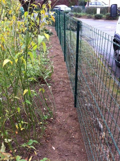 Réalisation de clôture